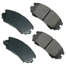 Akebono Front Ceramic Brake Pads for Kia Hyundai Chevy Malibu ACT924 Ships Fast!