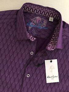 ROBERT GRAHAM NWT Men's Casual shirt Classic Fit Becker Size M New$198.00