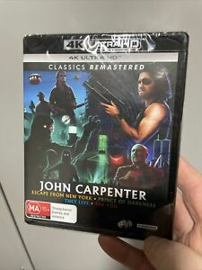 John Carpenter 4K UHD MODIFIED | 3 of 4 . Prince of Darkness, They Live, The Fog