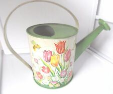 Vintage Ohio Art Tulip and Bees Watering Tin can No.158F174