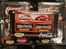 "MATCHBOX COCA-COLA  ""A DRINK FOR ALL SEASON"" 5/6 CARS *FACTORY SEALED SETS* M30"