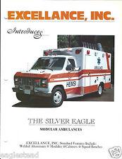 Ambulance Brochure - Excellance - The Silver Eagle - Type III I Modular  (DB170)