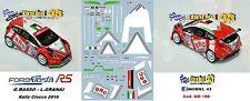 DECAL  1/43 -  FORD  FIESTA R5  - BRC -  BASSO - Rally  Ciocco    2016