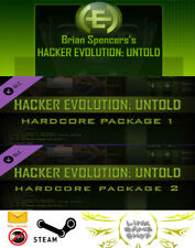 Hacker Evolution: Untold + 2 DLC PC Digital KEY STEAM - Region free