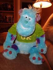 "Monsters Inc University Sulley LG 18"" Disney Sully Green OK Shirt Blue Purple"