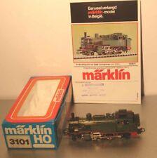 Märklin HO:  Exportmodell: 3101 SNCB Dampflok Serie 96.002 mit Prospektblatt OVP