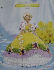 Annie Potter Flower Garden Glorious Gown Daffodil Crochet Bed Doll Pattern