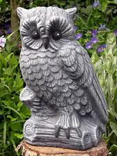 Steinfigur Eule Tierfigur Dekofigur Skulptur Gartenfigur Gartendeko Geschenkidee