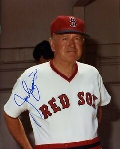 Joe Cronin Psa/dna Signed 8x10 Red Sox Photo Autograph Authentic