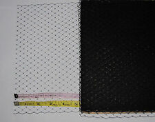"""9"""" X1m Black French Net Millinery Veiling Net Make Your Own Birdcage Veil"""