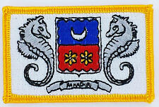 MAYOTTE FLAG PATCH PATCHES BADGE IRON ON NEW EMBROIDERED
