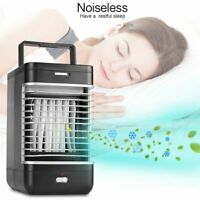 Portable Mini Air Conditioner Cool Cooling For Auto Car Bedroom Cooler Fan US