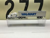 HO Scale 1:87 Kenworth W900L Sleeper with 53' Dryvan Walmart Transition Logo