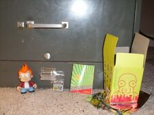 Futurama Kid Robot Series 1 Fry comes with box, foil, booklet, and figure