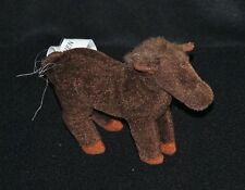 Peluche doudou cheval âne IKEA Minnen Brun marron 13 cm  de long TTBE