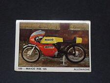 #123 MAICO RS6 125 ALLEMAGNE MOTO 2000 PANINI EDITIONS DE LA TOUR 1973
