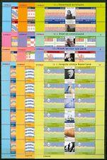 Nederland NVPH V2065-V2076 Provincievlaggen 12 velletjes van 12 2002 (11 scans)