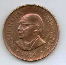 SOUTH AFRICA - 2 Cents (Nicolaas J. Diederichs) 1979 Bronze • 4.0 g • ⌀ 22.45 mm