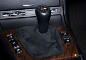 BMW 3 Série E46 Neuf Véritable Alcantara Droit Gear Coffre Levier Manche LHD