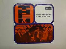 """THEM: (w/Van Morrison)It's All Over Now,Baby Blue-Holland 7"""" Decca AT 15 068 PSL"""