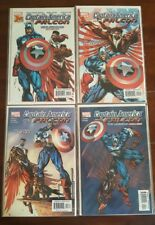 Captain America and the Falcon (2004), SET 1 to 4 NM+