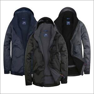 UNEEK Premium Outdoor Jacket Fleece Lined Waterproof Workwear Bodywarmer XS-4XL