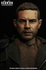Eleven 1/6 Scale Tom Hardy Mad Max Head Sculpt For Hot Toys Figure Body