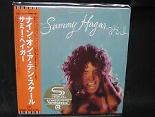 SAMMY HAGAR Nine On A Ten Scale + 1 JAPAN SHM MINI LP CD Van Halen Montrose