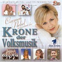 Krone der Volksmusik (2000, C. Nebel) Orch. Erich Becht, Kastelruther S.. [2 CD]