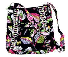 Vera Bradley cotton floral handbag Hipster Crossbody