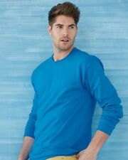 25 Plain Gildan Long Sleeve T-Shirt Wholesale Bulk Lot ok to mix S-XL & Colors