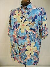 Hibiscus Collection Hawaiian XL Shirt in Rayon