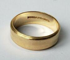 Vintage Artcarved 14K Gold Wedding Band Size 7
