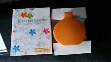 Thomas Porzellan Wand-Tischvase Fioretto Sunny Day Orange