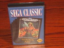 Golden Axe (Classic) Sega Genesis Case(Box) & Cover Art Only: NO GAME CARTRIDGE