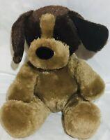 Build A Bear Brown Puppy Dog Plush Stuffed Animal Barking BABW B156