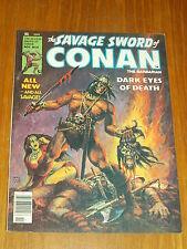 SAVAGE SWORD OF CONAN #35 VF (8.0) NOVEMBER 1978 CURTIS US MAGAZINE~