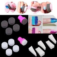 15pcs Nail Art Stamping polonais éponge design Transfer Stickers 3·Y Manicure S