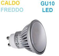 Lampada LED GU10,luce bianca,bianco freddo o caldo.Lampadina ,faretto GU10C 10c