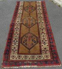 ANTIQUE SHABBY CHIC COUNTRY HOUSE NORTH WEST PERSIAN SARAB RUG  FRAGMENT CHEAP