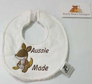 Aussie Made baby bib