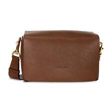 Lanvin Nomad Grained Calfskin Shoulder Bag - Havana