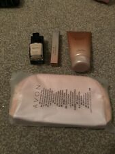 AVON Christian Lacroix Bijou Gift Set  purse spray, lotion ,nail Polish and Bag