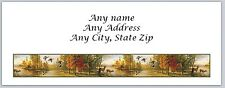 30 Personalized Address Labels Hunting Deer Buy 3 get 1 free (ac 533)