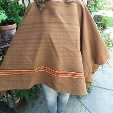 antique/vintage Aymara Indian hand woven wool Poncho mid 19th century