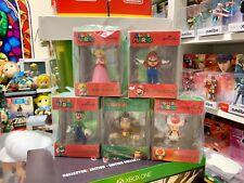 Hallmark Super Mario Ornaments Set Mario Luigi Donkey Kong Princess Peach  Toad 4fc7b67dc275