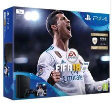 PS4 SLIM 1 TB FIFA 18 Bundle Nuovo di Zecca