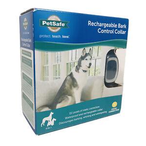PetSafe Rechargeable Bark Control Collar 8 Lbs+ Waterproof Model PBC0-15999