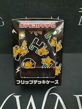More details for pikachu bk premium deck box - japan pokemon center (new/sealed)