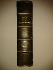 Revue de la Tuberculose - 1931